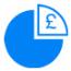 Save Money Button (Blue)